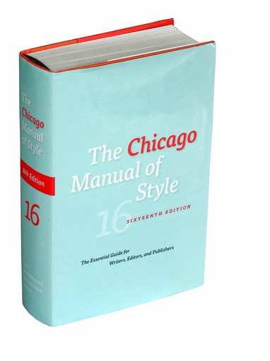 Chicago Manual Of Style Newspaper Names